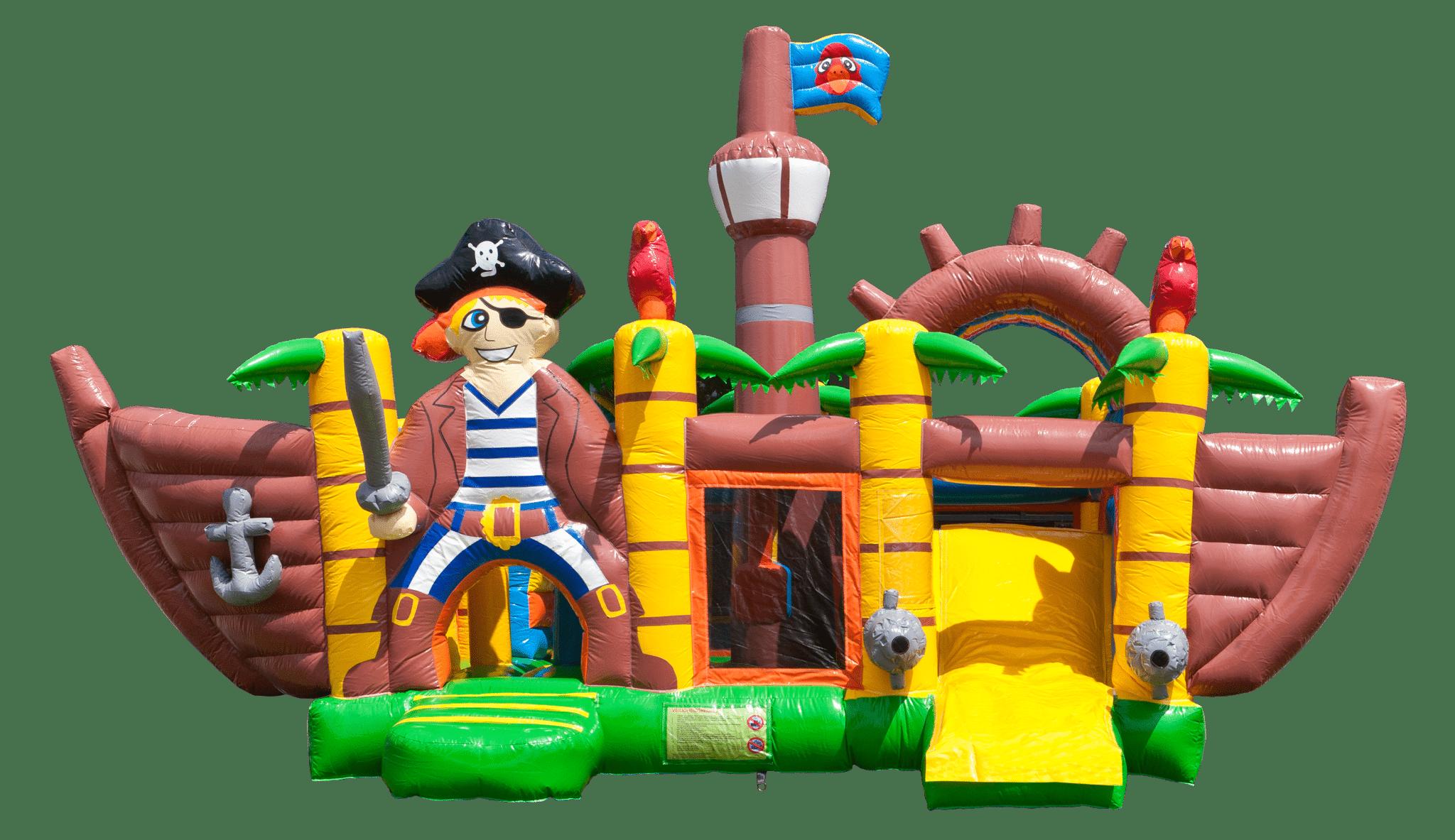 Piratenhüpfburg