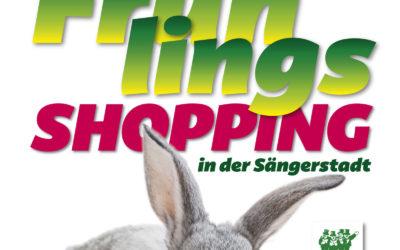 Frühlingsshopping-Finsterwalde