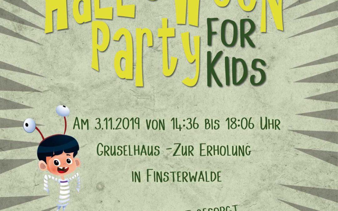 Halloweenparty für Kinder in Finsterwalde