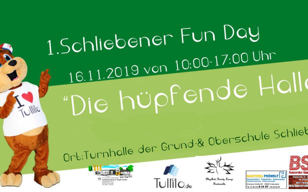 """1. Schliebener Fun Day """"Die hüpfende Halle"""""""