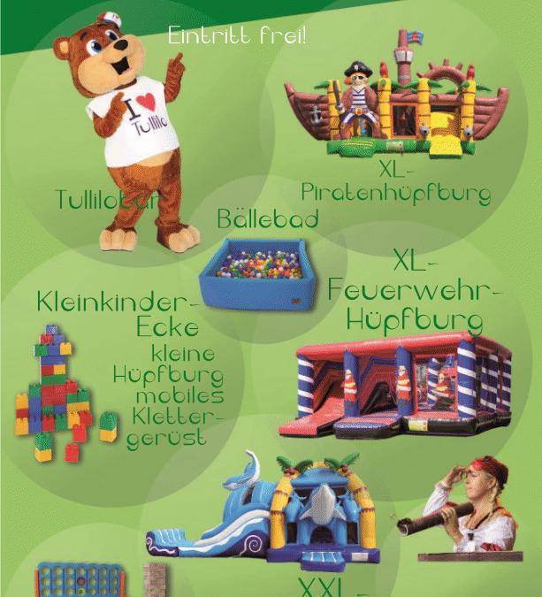 """1. Schipkauer Fun Day """"Die hüpfende Halle"""""""